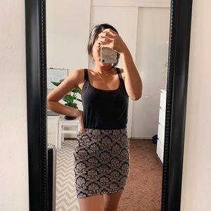 Printed pencil skirt **NEVER WORN**
